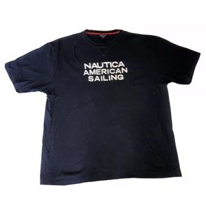 Nautica American Sailing Team XL T-Shirt EUC
